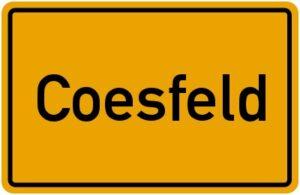 ortsschild Coesfeld