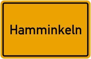 ortsschild Hamminkeln